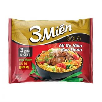 3 Mien Gold Special Spicy Sour Shirmp Flavor