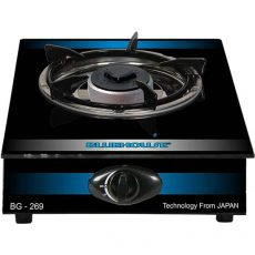 Single oven gas cooker