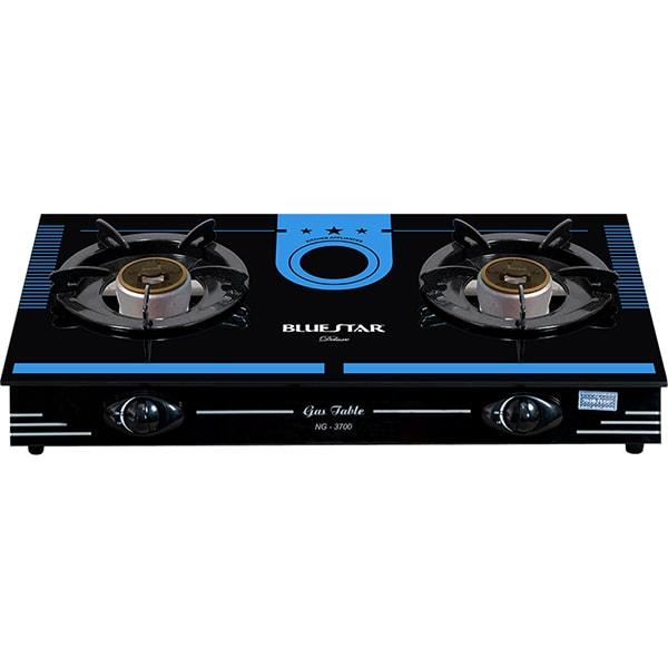 double oven gas cooker with eye level grill