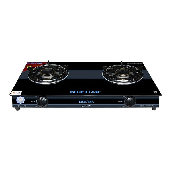 double gas cooker camping