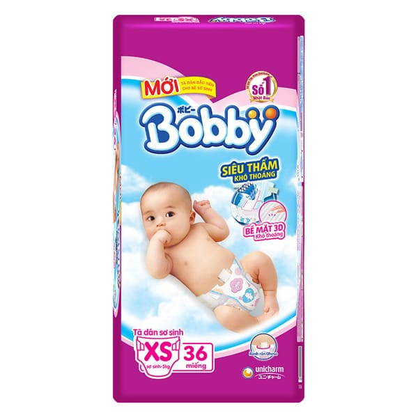 baby dry diapers size 2