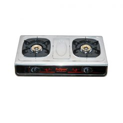 Double oven gas cooker 55cm