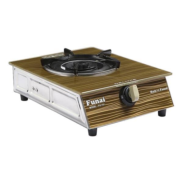 bush ag66sw single gas cooker