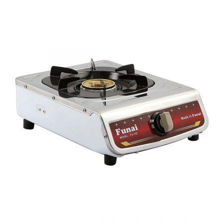Bush ag56s single gas cooker - white