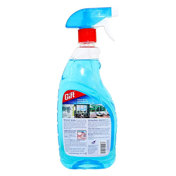 mr muscle glass cleaner 750ml