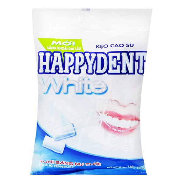 happydent chewing gum benefits