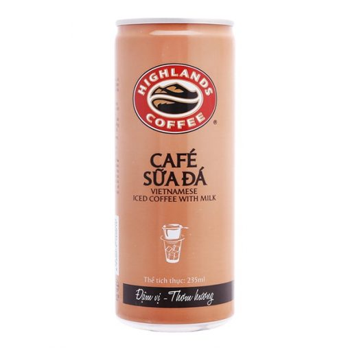 Highlands Coffee Milk Canned Coffee