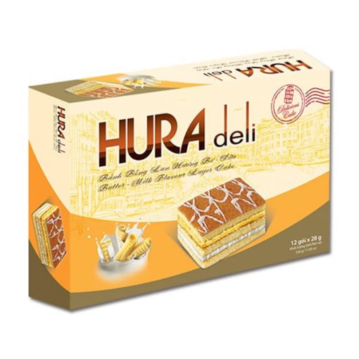 Hura Deli Strawberry Milk Layer Cake