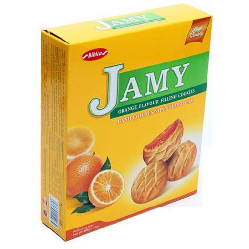 Jamy Orange Filling Cookies vietnam wholesale
