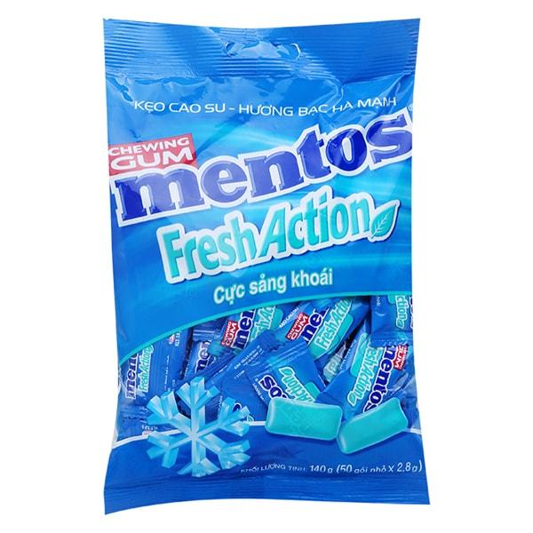 mentos chewing gum sugar free