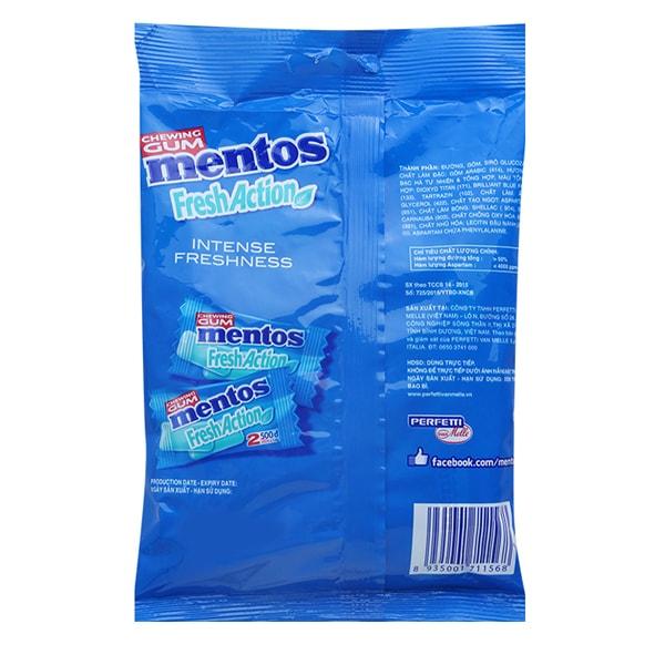 mentos chewing gum india