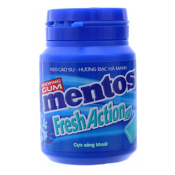 mentos chewing gum xylitol
