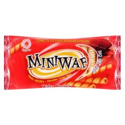 Miniwaf Chocolate Cream Fiilled Wafer Crunch