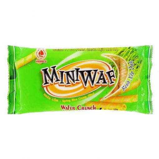 Miniwaf Spring Rice Fiilled Wafer Crunch