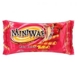 Miniwaf Strawwberry Fiilled Wafer Crunch