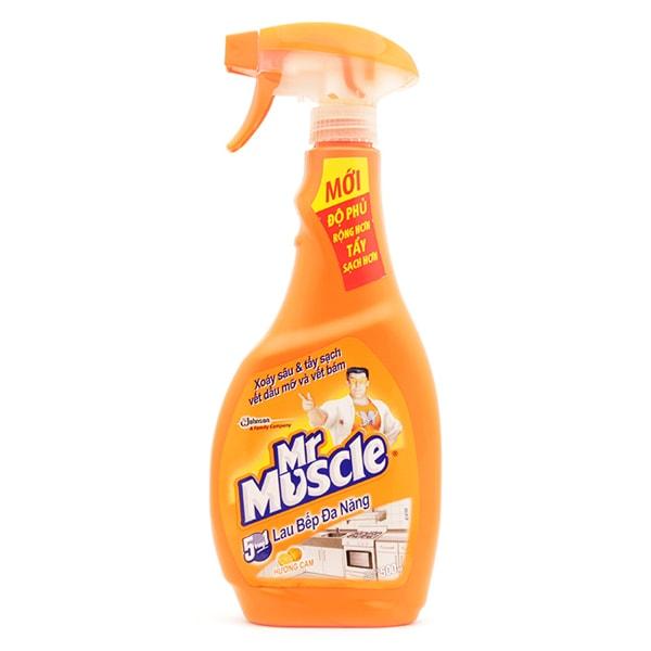 mr muscle kitchen cleaner asda