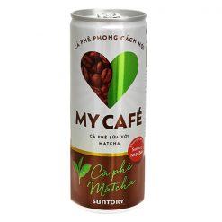 My Cafe Matcha Cafe Canned Coffee