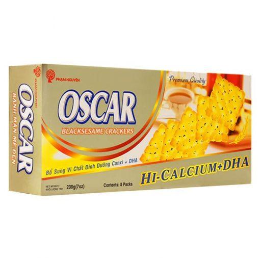 Oscar Blacksesame Crackers vietnam