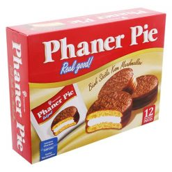 Phaner Pie Chocolate With Marshllow Soft Cake