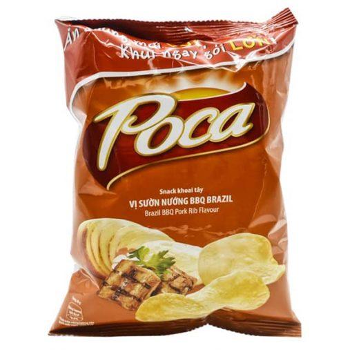 Poca Cheetos BBQ Pork Rib Flavour Snack