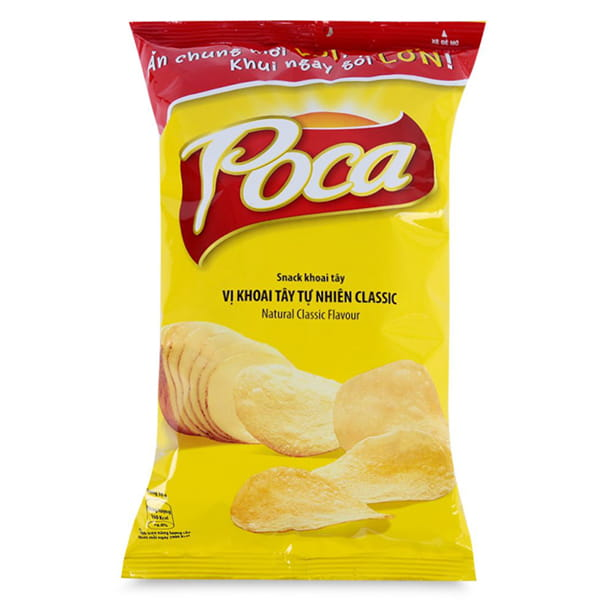 Poca Natural Classic Snack Latest Manufactured Date 100g Bag