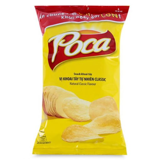 Poca Natural Classic snack product