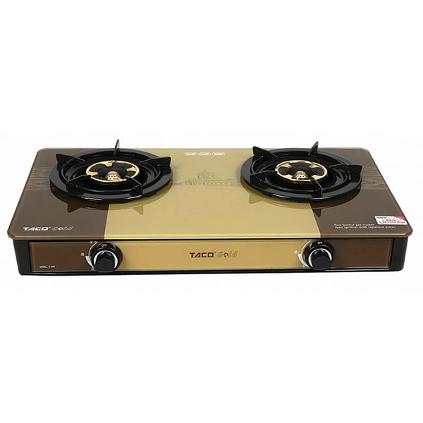double oven gas cookers built in