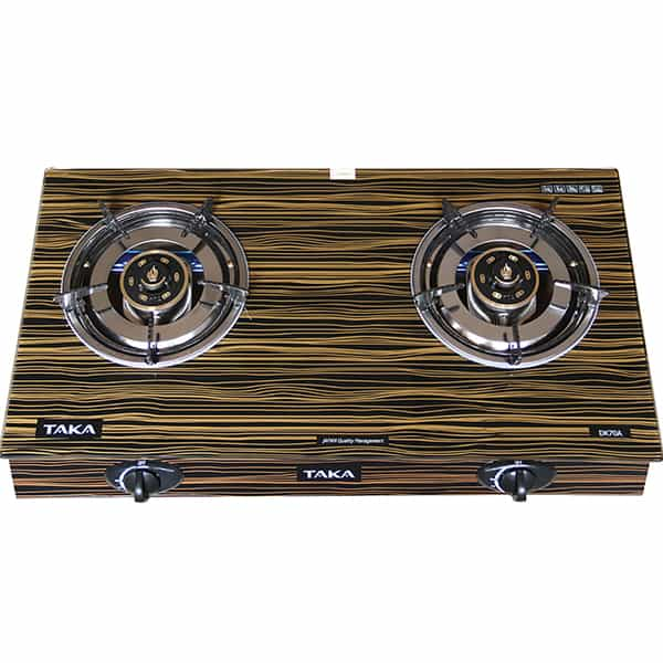 gas cooker with double gas oven