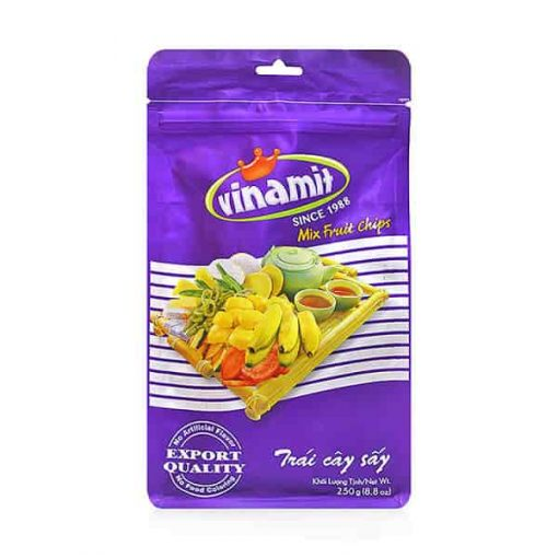 Vinamit mixed fruit chips