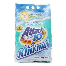 Powder laundry detergent