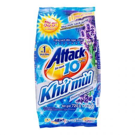 Attack Lavender Powder Laundry Detergent