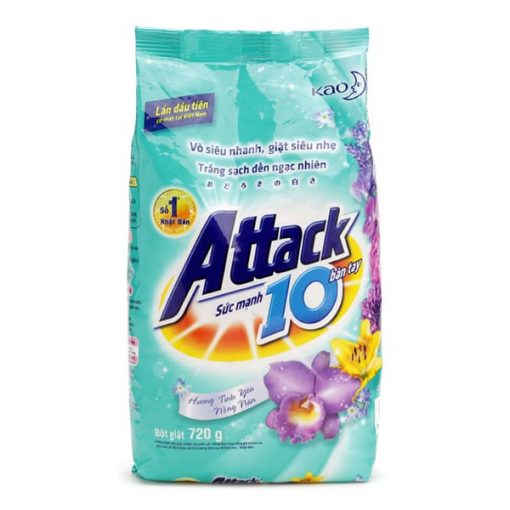 Attack Sakura Powder Laundry Detergent