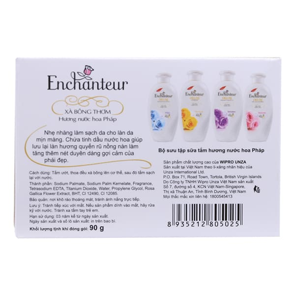 enchanteur whitening soap