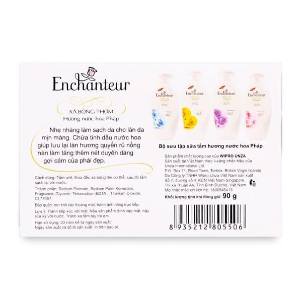 enchanteur body soap