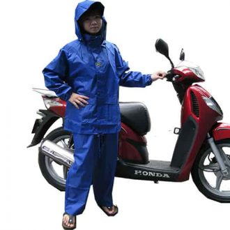 Raincoat for bike