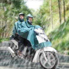Raincoat motorcycle