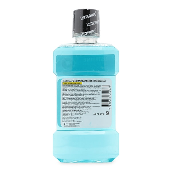 listerine ingredients