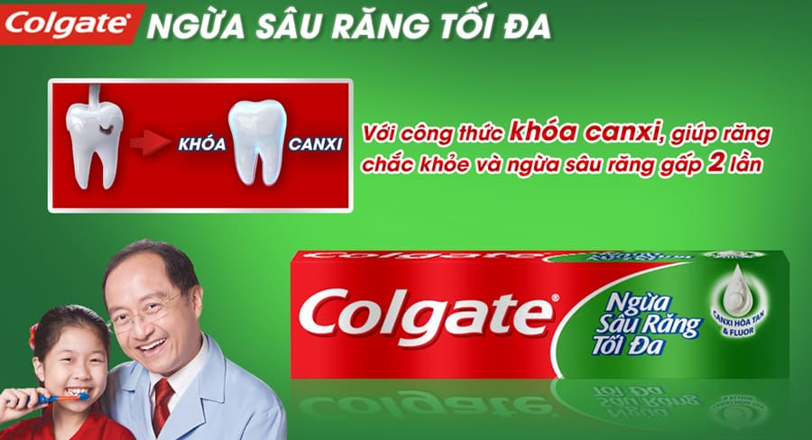 Colgate Toothpaste Prevent Cavities