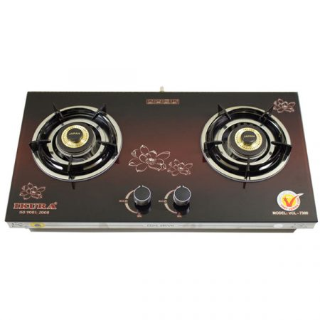 Gas cooker range