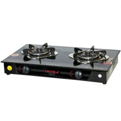Gas cooker for camping