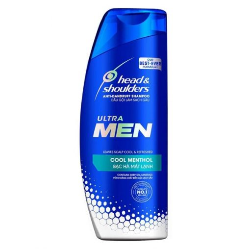 Head And Shoulders UltraMen Cool Methol Shampoo 315ML