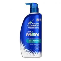 Head And Shoulders UltraMen Cool Methol Shampoo 550ML