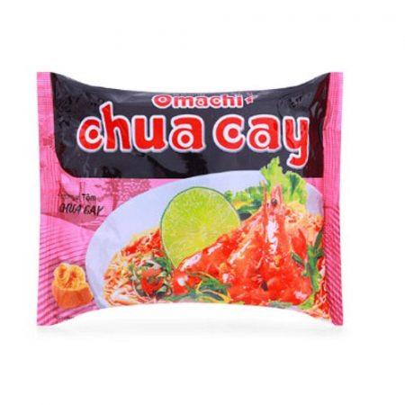 Omachi Potato Shrimp Flavor Instant Noodles 75G