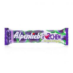 Alpenliebe 2Chew Grape Flavor Soft Candy 24.5G