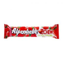 Alpenliebe 2Chew Strawberry Flavor Soft Candy 24.5G