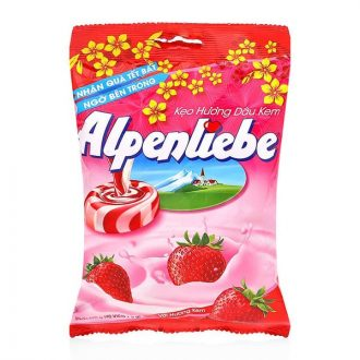 Alpenliebe Strawberry And Cream Candy 120G
