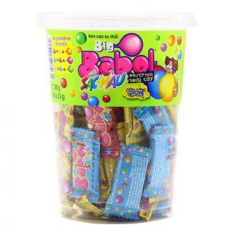 Big Babol Colours Fruits Flavour Bubble Gum Cup 266G