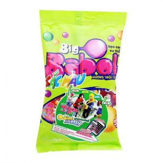 Big Babol Colours Fruits Flavour Bubble Gum Bag 190G
