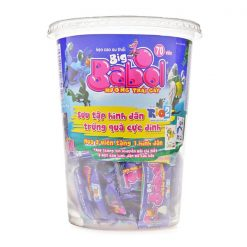 Big Babol Fruits Flavour Bubble Gum Cup 266G