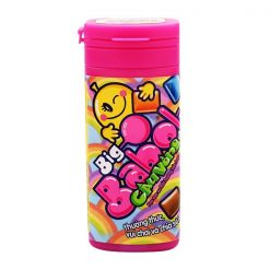 Big Babol Rainbow Assorted Flavours Bubble Gum Jar 18G